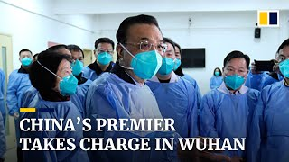 China coronavirus: Premier Li Keqiang takes charge in Wuhan as death toll and new cases rise