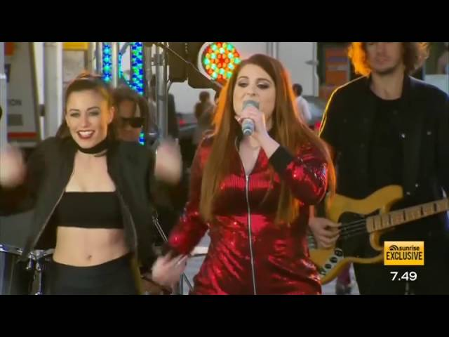Meghan Trainor performs 'NO' LIVE - Sunrise