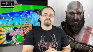 News Wave! - Nintendo Games Release On The Nvidia Shield And Did Sony Leak God of Wars Release Date?