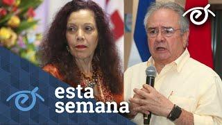 Carlos F  Chamorro: las sanciones a Murillo y Porras y la transición del poder