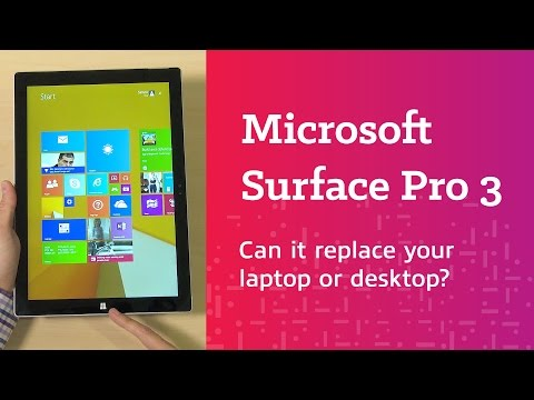 Can The Microsoft Surface Pro 3 Replace Your Laptop Or Desktop? | Overview And Features