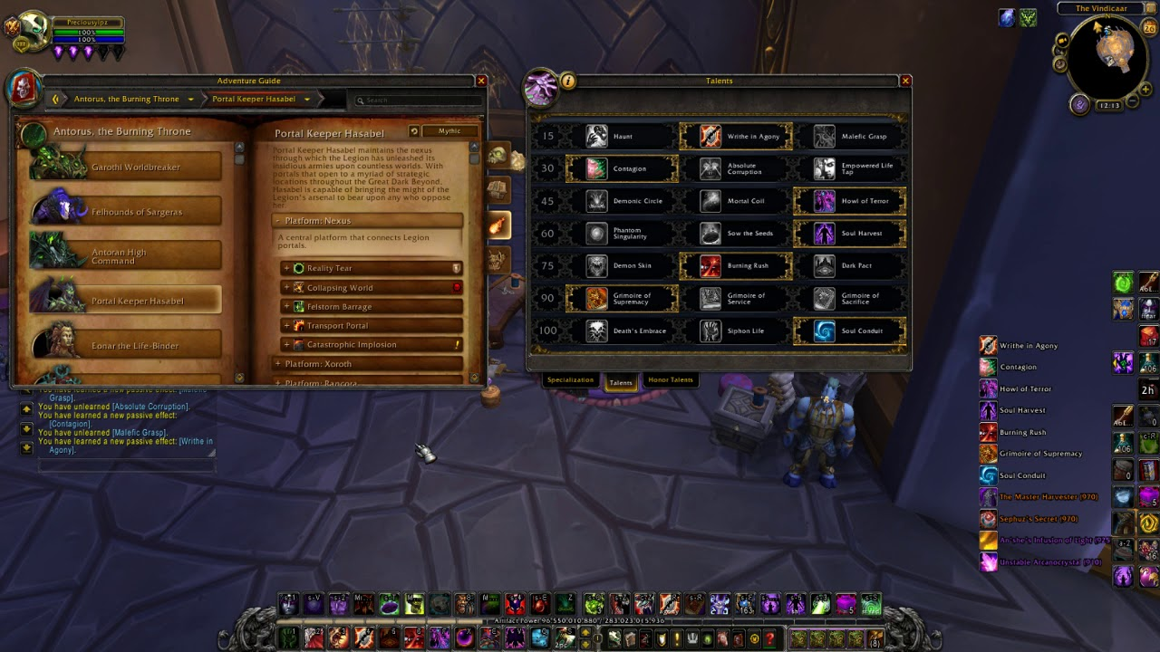 Pve affliction warlock guide, wow wotlk 3. 3. 5a gnarly guides.