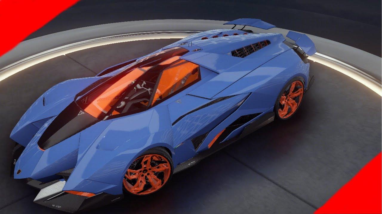 Asphalt 9 Legends Lamborghini Egoista Test Drive Youtube