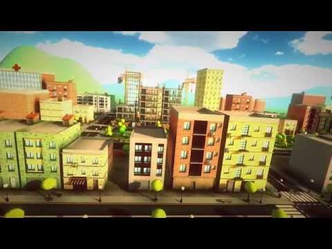 Unity 3d Wallpaper Cartoon City Pack Unity Asset Store Youtube