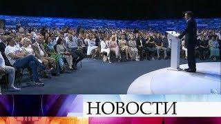 Губернатор Московской области Андрей Воробьев встретился с представителями общественности.