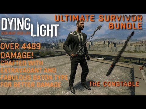 Dying Light The Constable from Ultimate Survivor Bundle DLC (2015) with Special Agent Outfit |