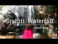 Graffiti Waterfall Hike, Riverside, CA. 2017