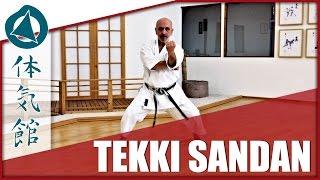 Tekki sandan – fast and slow