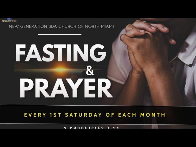 May 1, 2021   Direction & Information For Prayer & Fasting   Pastor Ruben Joseph   Matthew 17:14-21