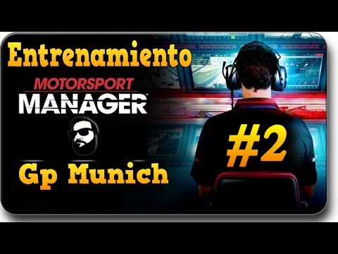 Motorsport Manager | #2 Entrenamiento Gp Alemania | Cat. 3 [HD]