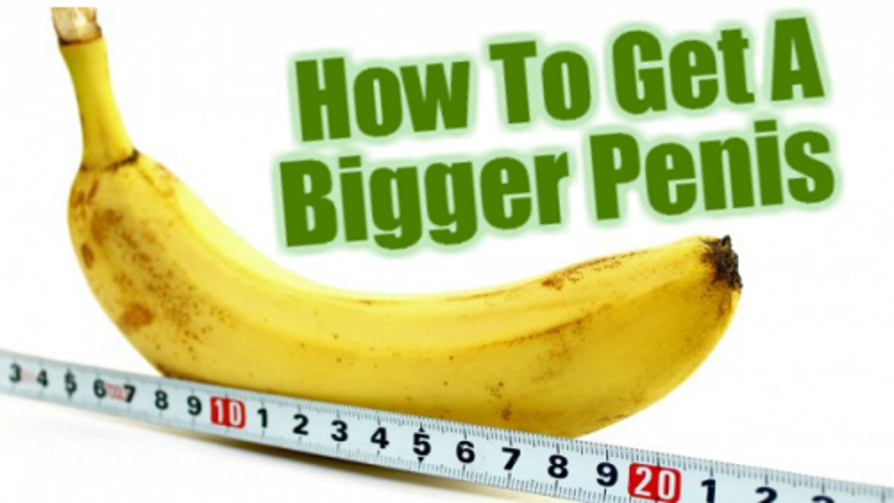 How big does your dick have to be