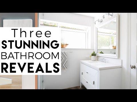 Interior Design | Del Mar Reveal #7 | 3 Bathroom Makeovers