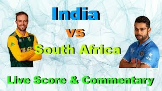 India vs South Africa | Live Score and Commentary | Champions Trophy 2017