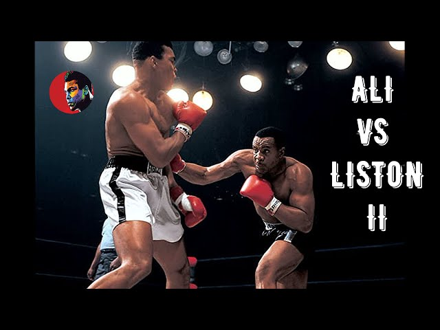 Muhammad Ali vs Sonny Liston II #Legendary Night# HD