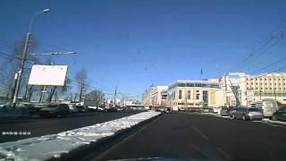 Новоясеневский пр т, у автостанции 4376А видео