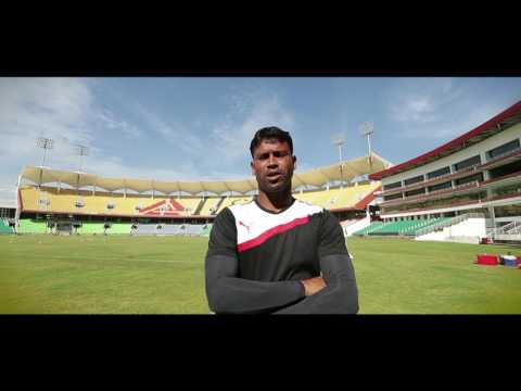 Puma Training Zone : Kerela Blasters (Indian Soccer League)