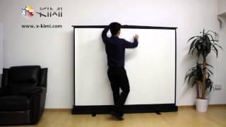 X-KIMI 100 Inch Floor Projector Screen
