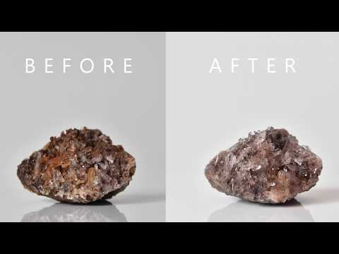 New easy method of cleaning Quartz crystals, alternative for Iron Out and Waller`s method