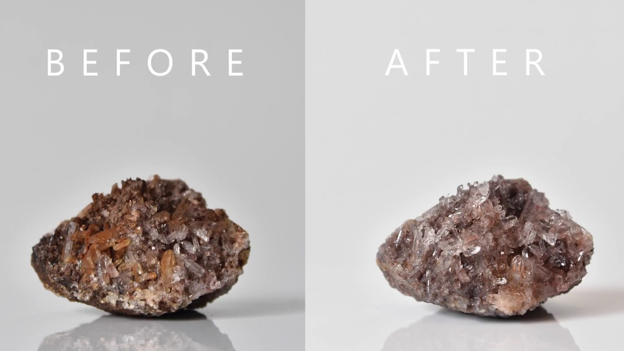 New Easy Method Of Cleaning Quartz Crystals Alternative For Iron Out And Waller S