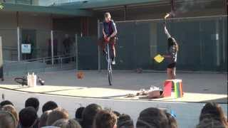 Jeremy the Juggler - Middle School Assembly (Pleasant Hill, CA)