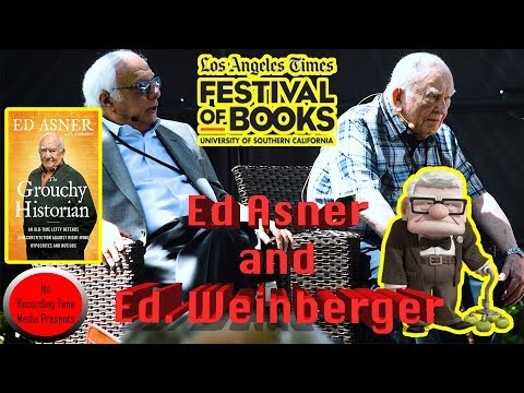 Los Angeles Times Festival Of Books 2018: Ed Asner and Ed. Weinberger Panel