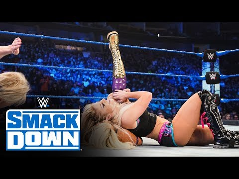 Alexa Bliss & Nikki Cross vs. Fire & Desire: SmackDown, Jan. 31, 2020