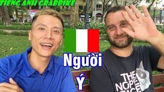 Nói Tiếng ý cùng bản ngữ- Speaking Italian | Tiếng Anh Grabbkie