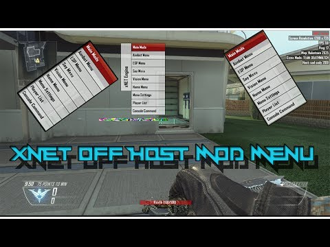 xNET Engine | BEST STEALTH OFF-HOST MENU By OldSchoolModzHD | ALL CODS! | w/Download