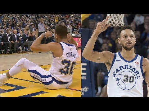 Stephen Curry 26 Points 2nd QTR! Warriors Win By 49 vs Bulls! 2017-18 Season