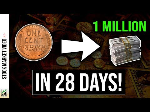 1 Penny To 1 Million Dollars In 28 DAYS! (Using Compound Interest) 💸