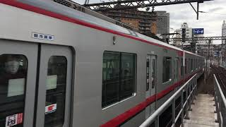 【とうぶせん】東武70000型@東京メトロ日比谷線 中目黒駅