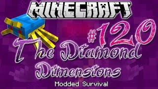 """THE BUG DIMENSION"" | Diamond Dimensions Modded Survival #120 | Minecraft"