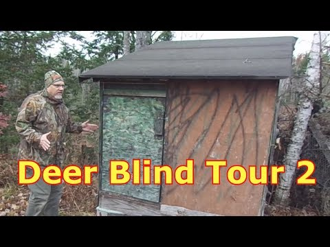Deer Blind Tour - Hunting In Comfort Part 2