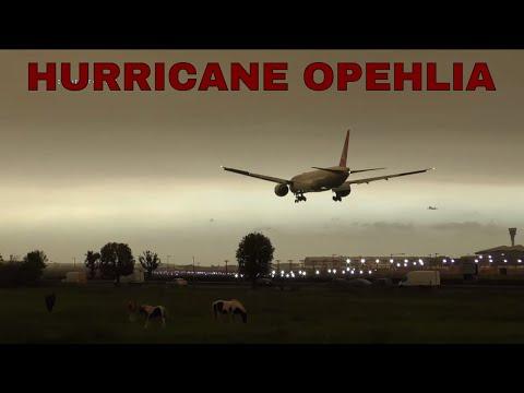 Jet Stream #44 Storm Ophelia LIVE