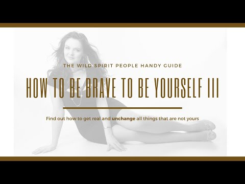 How To Be Brave To Be Yourself: Saying NO And Sticking With Things