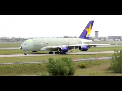 A380 Skymark Airlines...
