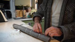DIY: How to make cheap quiver for arrows.