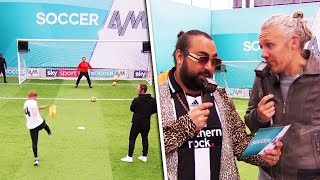 Swansea City fans go close to setting Volley Challenge record! | Plus Chabuddy G & Idles