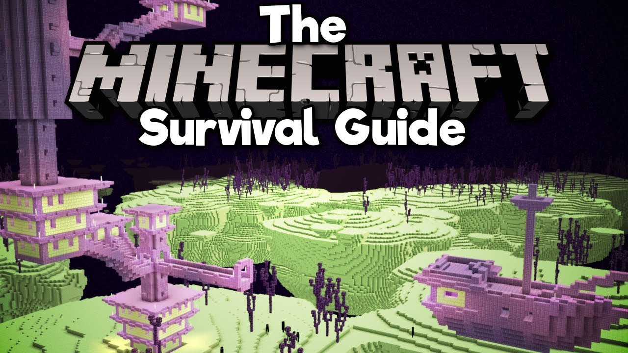 8a3cd80d1d9 End Cities, Shulkers, and Elytra! ▫ The Minecraft Survival Guide (Tutorial  Lets Play) [Part 24]