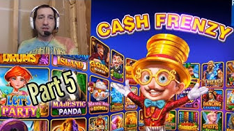 CASH FRENZY CASINO - Slots by Secret Sauce P5 Free Mobile Game Android Ios Gameplay Youtube YT Video