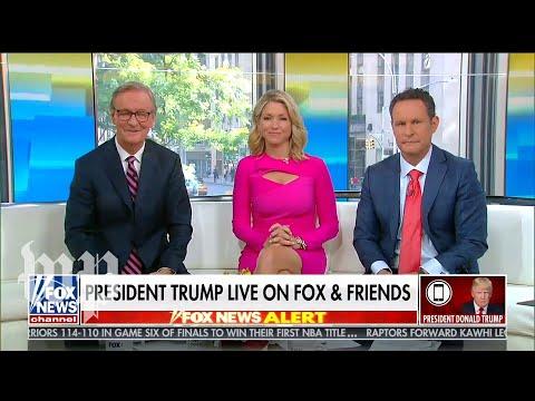 Trump's marathon 'Fox & Friends' phone call, in 2.5 minutes
