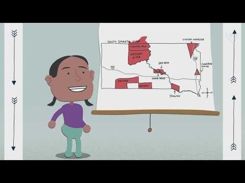 South Dakota Native American Reservations (Video For PreK - Elementary)