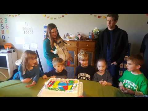 Happy Birthday Henry and Charlie - April 2018