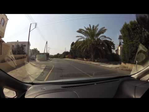 Driving in Cyprus on the left side