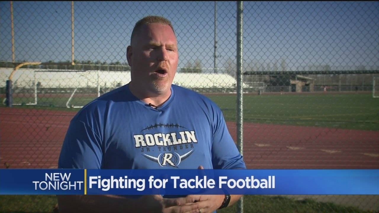 Rocklin Coach Leads Charge Against California's Youth Tackle Football Ban