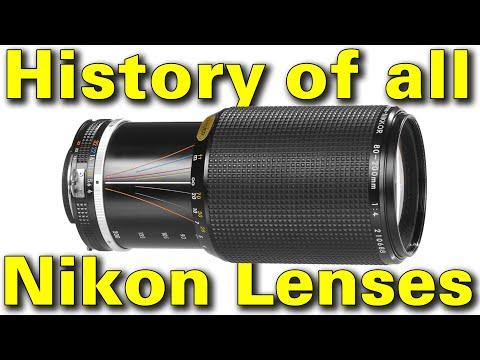 Nikon Lens History By Ken Rockwell