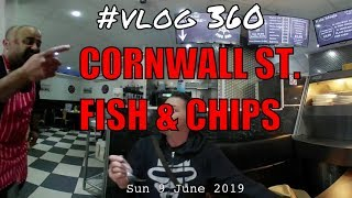 Cornwall St. Traditional Fish Shop in Plymouth 4k 360