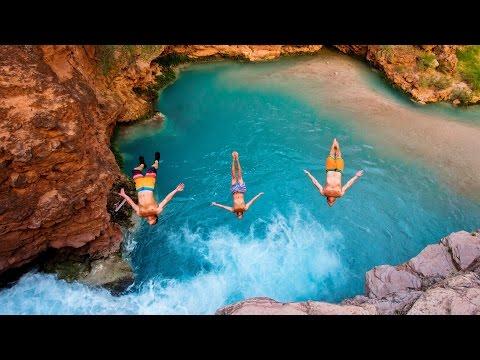 HAVASUPAI 2016 // Cliff Jumping in Paradise