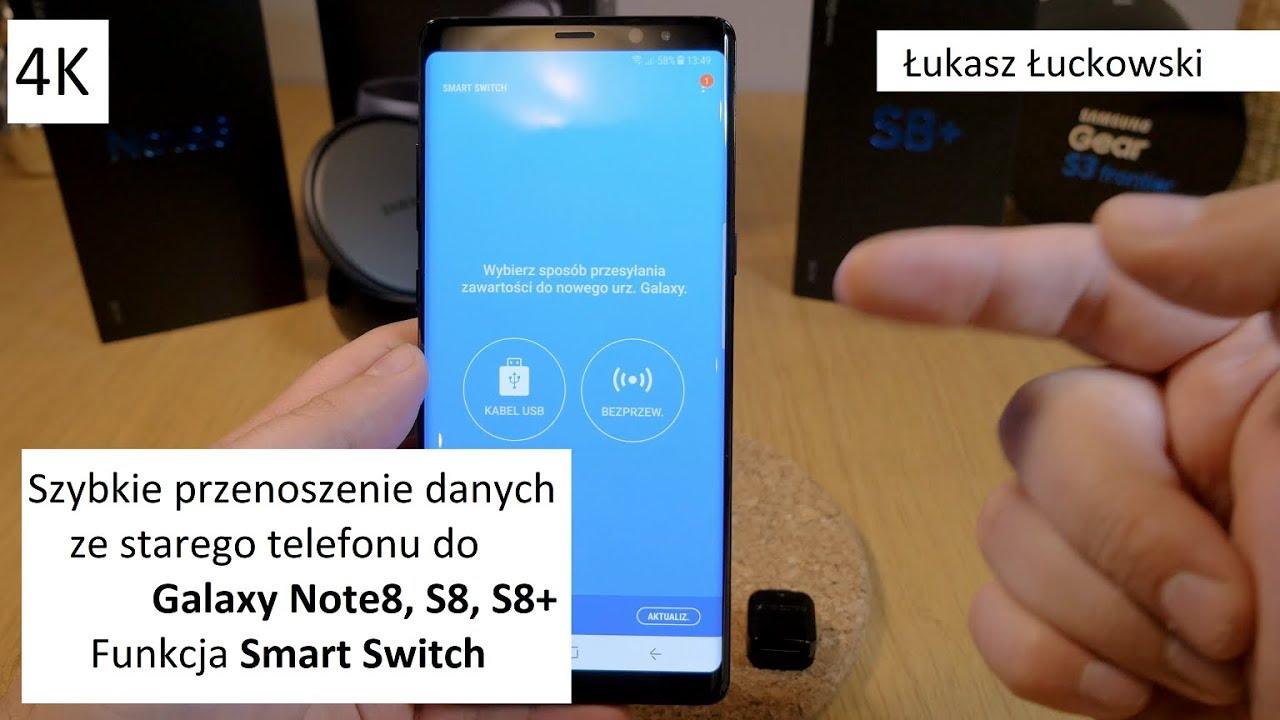 jak skopiować dane z samsunga na iphone