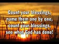 Count Your Blessings (unknown artists) - MVL - roncobb1